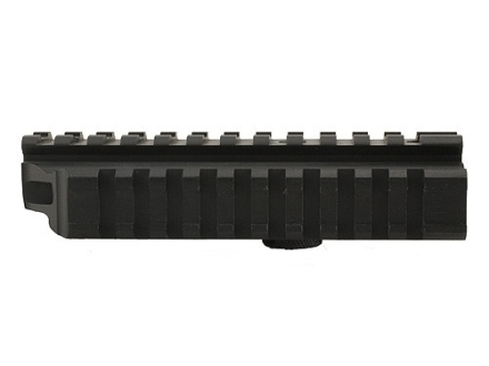 Leapers UTG See-Thru Carry Handle Mount with Three Picatinny-Style Rails AR-15 Matte