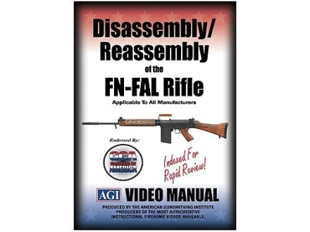American Gunsmithing Institute (AGI) Disassembly and Reassembly Course Video &quot;FN-FAL Rifles&quot; DVD