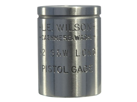 L.E. Wilson Max Cartridge Gage 32 S&W Long, 32 New Colt Police