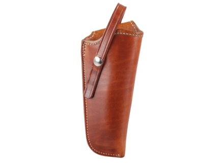 "El Paso Saddlery 1920 Tom Threepersons Outside the Waistband Holster Right Hand Ruger Blackhawk/Vaquero 5.5"" Russet Brown"
