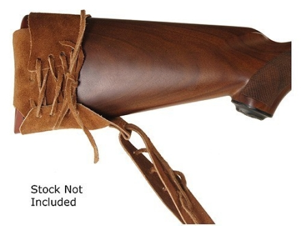 Oklahoma Leather Lace-On Sling Suede Brown