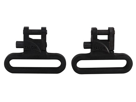 The Outdoor Connection Talon Sling Swivels 1-1/4&quot; Steel Black (1 Pair)
