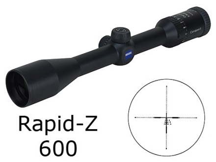 Zeiss MC Conquest Rifle Scope 3-9x 40mm Rapid Z 600 Reticle Matte