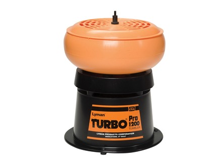Lyman Turbo 1200 PRO Sifter Case Tumbler 110 Volt