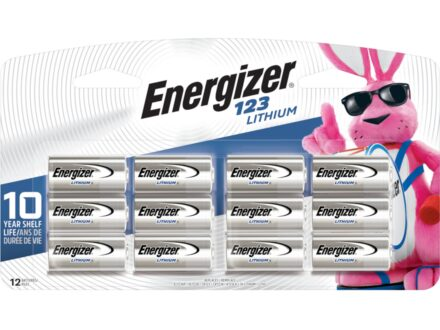 Energizer Battery EL123 (CR123 Compatible) Lithium