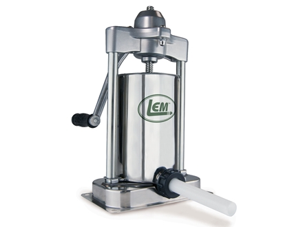 LEM Vertical 5 lb Sausage Stuffer Stainless Steel