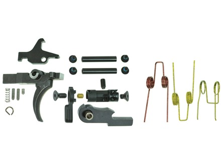 "JP Enterprises Competition Trigger Kit with Trigger, Hammer and Anti-Walk Pins AR-15 Small Pin .154"" 3 lb Single Stage"