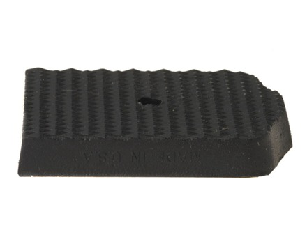 Pachmayr Rubber Magazine Base Pad Browning Hi-Power, Beretta 92, Taurus 92 and 99, Ruger P85, P89, P90, P91 Black Package of 5