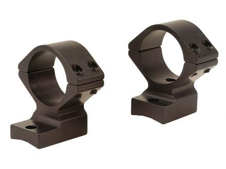 "Talley Lightweight 2-Piece Scope Mounts with Integral 1"" Rings Ruger 10/22 Matte Medium"
