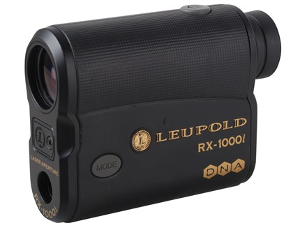 Leupold RX-1000i with DNA Laser Rangefinder 1000 Yard 6x Armored Black