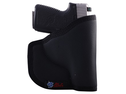 DeSantis Nemesis Pocket Holster Ambidextrous Colt Detective Special 2&quot;, Ruger LCR 1-7/8&quot;, SP101 2&quot; Barrel Nylon Black