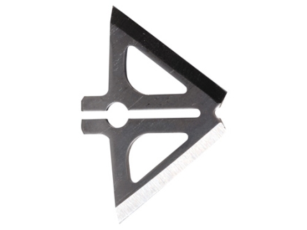 "Slick Trick 1 1/8"" Magnum Extra Blades Broadhead Replacement Blades Stainless Steel Pack of 6"