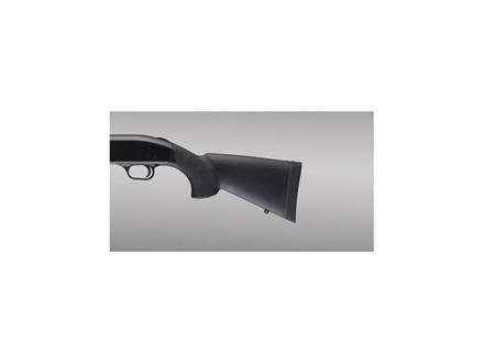 Hogue OverMolded Stock Mossberg 500 12&quot; Length of Pull Rubber Black