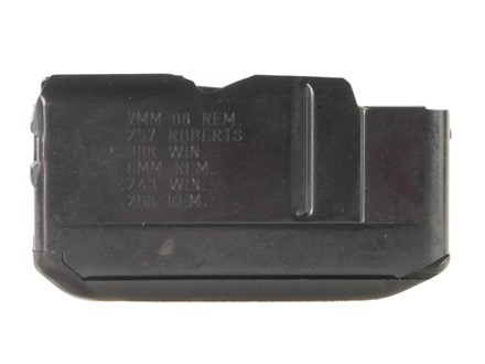 Remington Magazine Remington Four, 74, 740, 742, 7400 243 Winchester, 6mm Remington, 257 Roberts, 7mm-08 Remington, 308 Winchester 4-Round Steel Blue