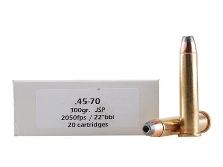 Doubletap Ammunition 45-70 Government 300 Grain Jacketed Hollow Point Box of 20