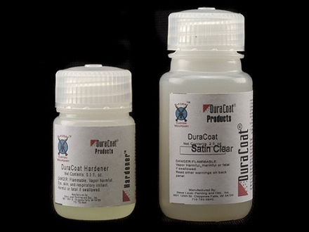 Lauer DuraCoat Firearm Finish Clear Satin 2 oz