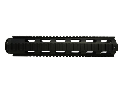 DPMS Free Float Tube Handguard Quad Rail AR-15 Rifle Length Aluminum Black