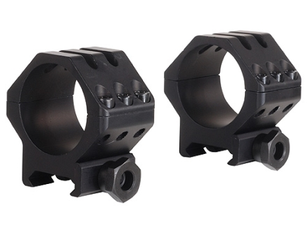 Weaver 30mm Tactical 6-Hole Picatinny-Style Rings Matte Low