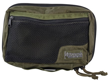 Maxpedition Padded Pouch Six by Six Nylon Olive Drab Green