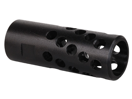 "AR-Stoner Heli-Port Muzzle Brake 9/16""-24 Thread AR-15 6.5mm Parkerized"