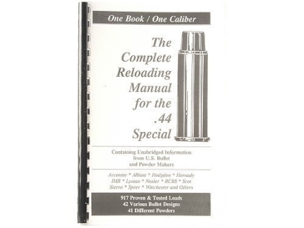 "Loadbooks USA ""44 Special"" Reloading Manual"