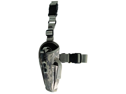 Crosman Airsoft Leg Holster Nylon Digital Camo
