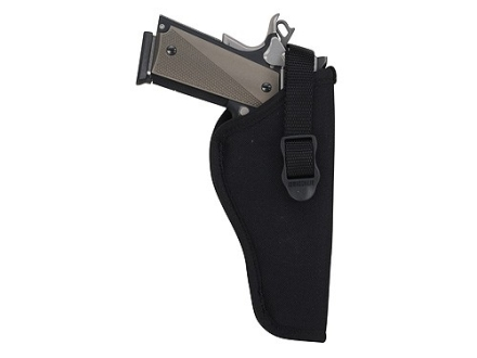 BlackHawk Hip Holster Right Hand Medium, Large Frame Semi-Automatic 3-1/4&quot; to 3-3/4&quot; Barrel Nylon Black