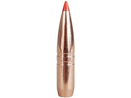 Hornady Gilding Metal Expanding Bullets 264 Caliber, 6.5mm (264 Diameter) 120 Grain GMX Boat Tail Lead-Free Box of 50