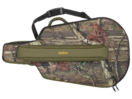 Allen Exacta Fitted Crossbow Case for Reverse Limb and Parallel Limb Bows Nylon Mossy Oak Break-Up Infinity Camo