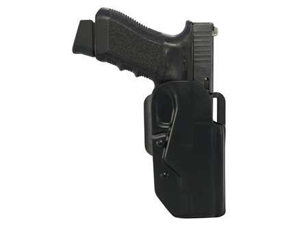 "Blade-Tech Black Ice Belt Holster Right Hand Springfield XDM 45 4.5"" ASR Loop Kydex Black"