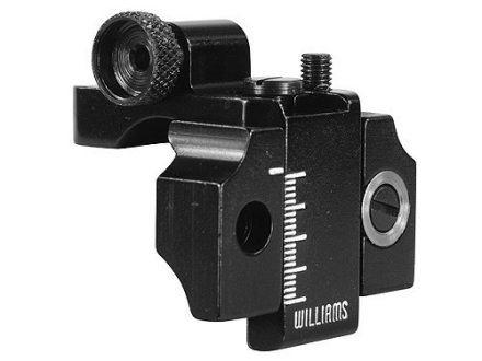 Williams 5D-SH Receiver Peep Sight Benjamin 340, 342, 347,392, 397, Sheridan Model C Aluminum Black