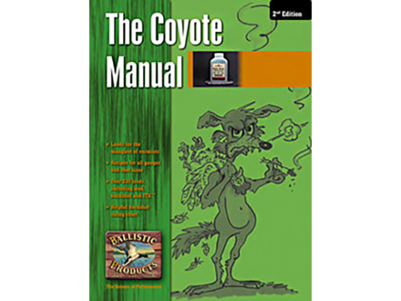 "BPI ""Coyote Loads: 1st Edition"" Reloading Manual"