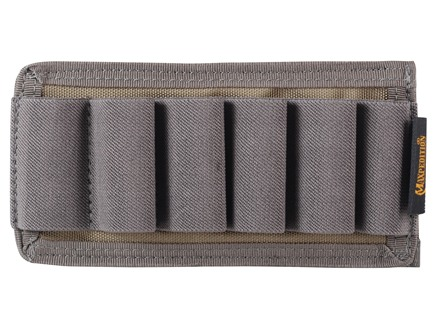 Maxpedition Hook and Loop Horizontal 6 Round Shotgun Panel Nylon Khaki Foliage
