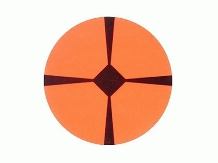"Lyman Accupoint Target Dots 3"" Self-Adhesive Red Package of 25"