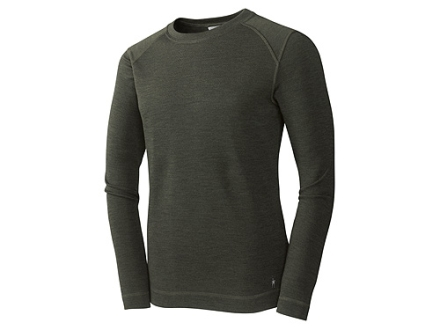 SmartWool Mens Midweight Long Underwear Crew Shirt Long Sleeve Wool