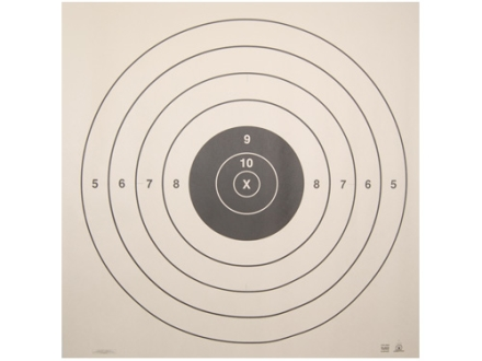 NRA Official High Power Rifle Target SR 200 Yard Slow and Rapid Fire Paper Package of 50