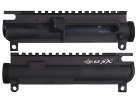 Yankee Hill Machine Upper Receiver Stripped AR-15 Flat-Top Matte With 6.8 SPC Marking