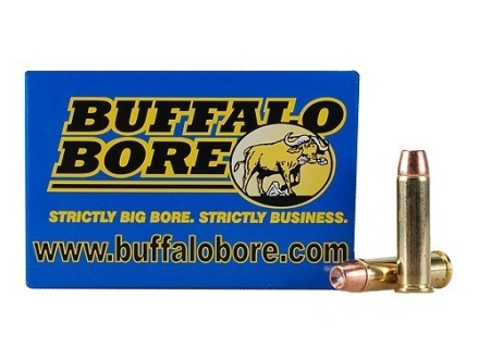 Buffalo Bore Ammunition 357 Magnum 125 Grain Jacketed Hollow Point Box of 20