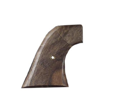 Hogue Cowboy Grips Colt Single Action Army Checkered Walnut