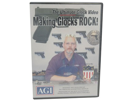 American Gunsmithing Institute (AGI) Video &quot;Making Glocks Rock&quot; DVD