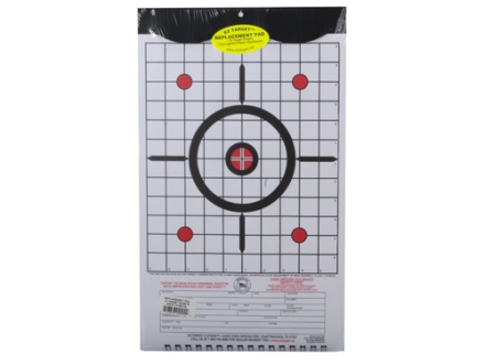 EZ Target Sight-In Replacement Pad Target 11&quot; x 17&quot; Paper Package of 15