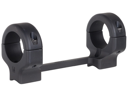 "DNZ Products Game Reaper 1-Piece Scope Base with 1"" Integral Rings Browning T Bolt Matte Medium"