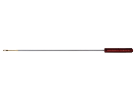 "Pro-Shot Premium 1-Piece Micro-Polished Cleaning Rod 22 Caliber 12"" Stainless Steel 8 x 32 Thread with Patch Holder"