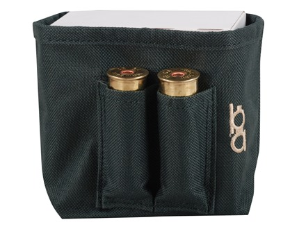 Bob Allen Single Box Shotshell Ammunition Carrier Nylon Green