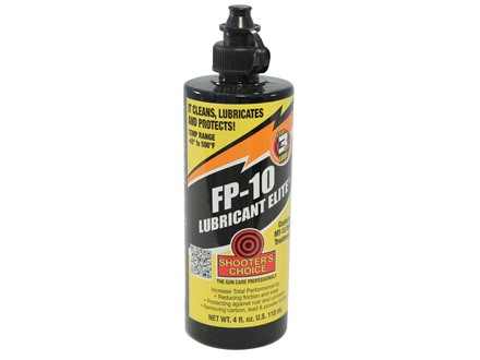 Shooter&#39;s Choice FP-10 Gun Lubricant Elite 4 oz Liquid