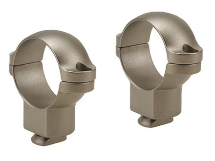 "Leupold 1"" Dual-Dovetail Rings Silver High"