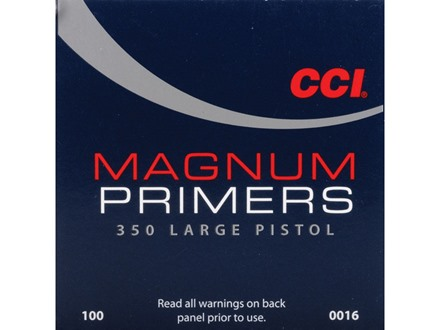 CCI Large Pistol Magnum Primers #350 Case of 5000 (5 Boxes of 1000)