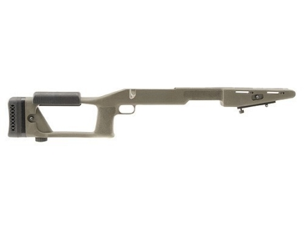 Choate Ultimate Sniper Rifle Stock Winchester 70 Long Action 1.25&quot; Barrel Channel Synthetic Olive Drab