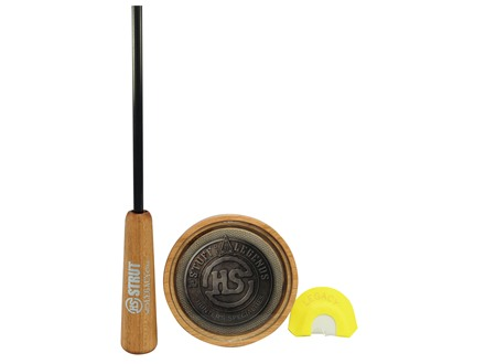H.S. Strut Legacy Glass with Diaphragm Turkey Call Pack