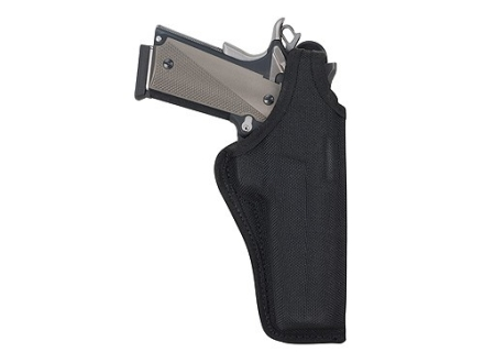Bianchi 7001 AccuMold Thumbsnap Holster Right Hand Colt Anaconda, S&amp;W N-Frame 4&quot; Barrel Nylon Black